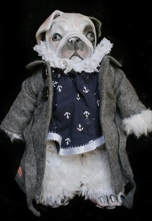 English Bulldog Pup Doll