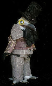 Gentleman Woodpecker Doll
