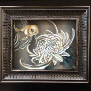 "COSSET  |   2016  |   oil on canvas, 10"" x 8"""