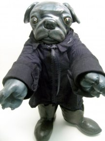 Pug as Johnny Cash