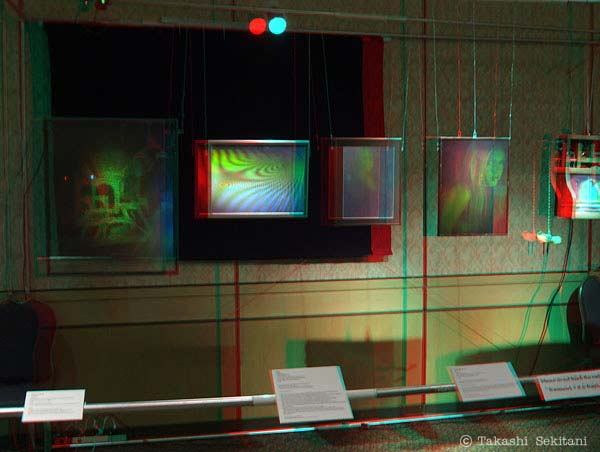 Hologram exhibit