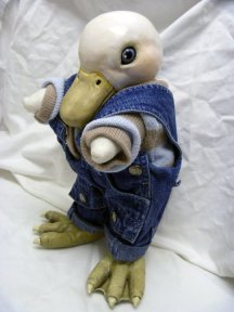DUCKLING IN COVERALLS
