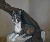 "SULLY (commissioned portrait) | 2010 | oil on canvas, 28"" x 24"""