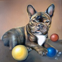ARCHIE (commissioned portrait) | 2014 | oil on canvas