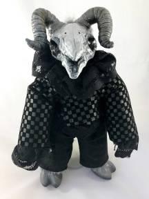 Ram Skull Mini Doll