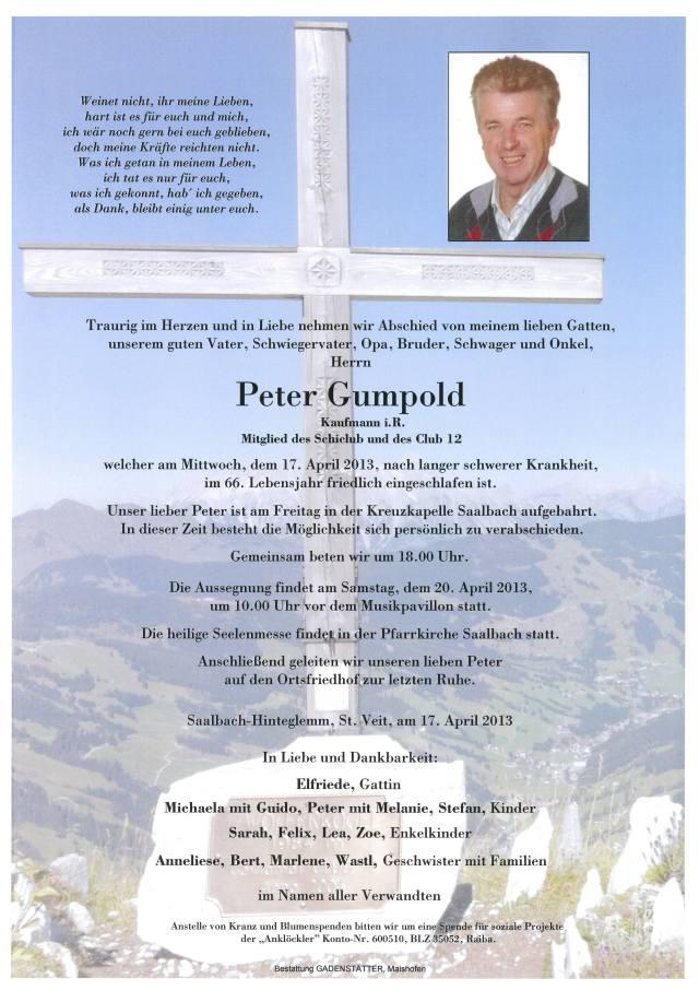 Parte Gumpold Peter