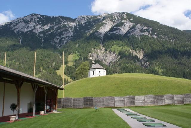 GC. Posthotel Alpengolf Achenkirch, ein sehr gepflegter, schwer zu spielender Platz. Eine Herausvorderung für alle Golfer