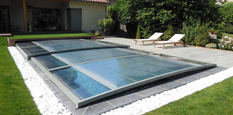 l abri integre extra plat est notre nouveau concept d abri de piscine