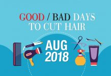 Good Amp Bad Days To Cut Hair For February 2019