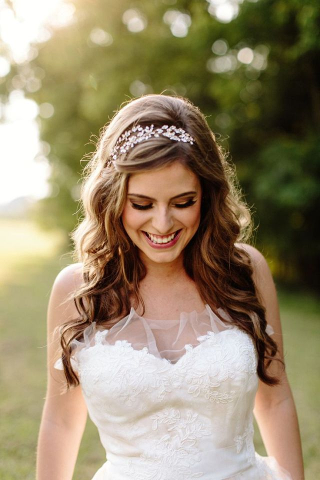 20 wedding hairstyles with tiara ideas - wohh wedding