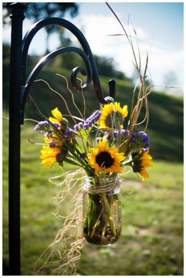 Fall Mason Jar Wedding Ideas