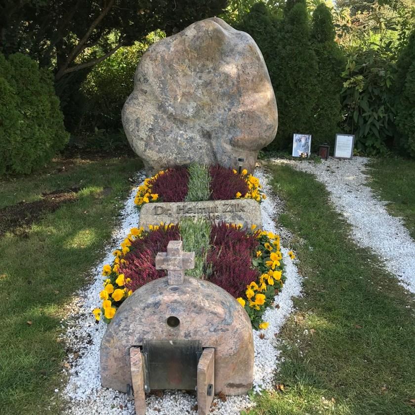 Ehrengrab Dr. Helmut Zilk