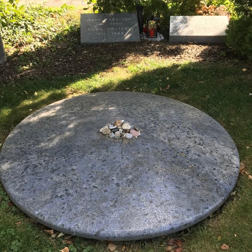 Ehrengrab Dr. Bruno Kreisky