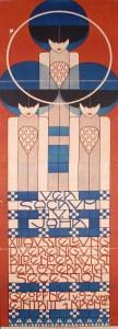 Koloman Moser, Plakat für die XIII. Secessionsausstellung, 1902 © MAK