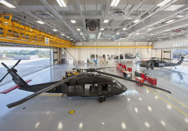 Army Aviation Support Facility - Wohlsen Construction