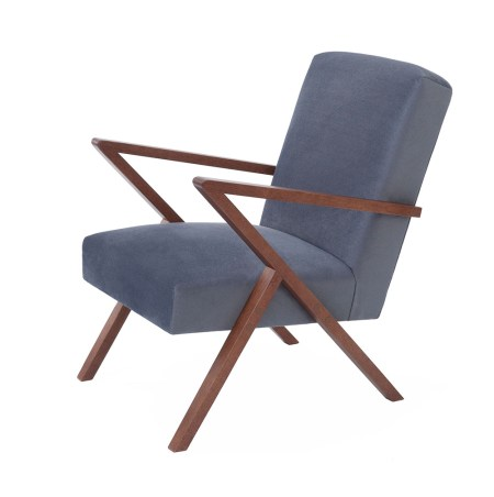 Sternzeit Design Retrostar Chair – Velvet-Line