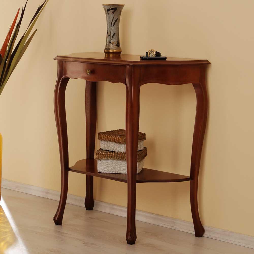 Telefontisch Martin Aus Nussbaum Antik Gebeizt Wohnende