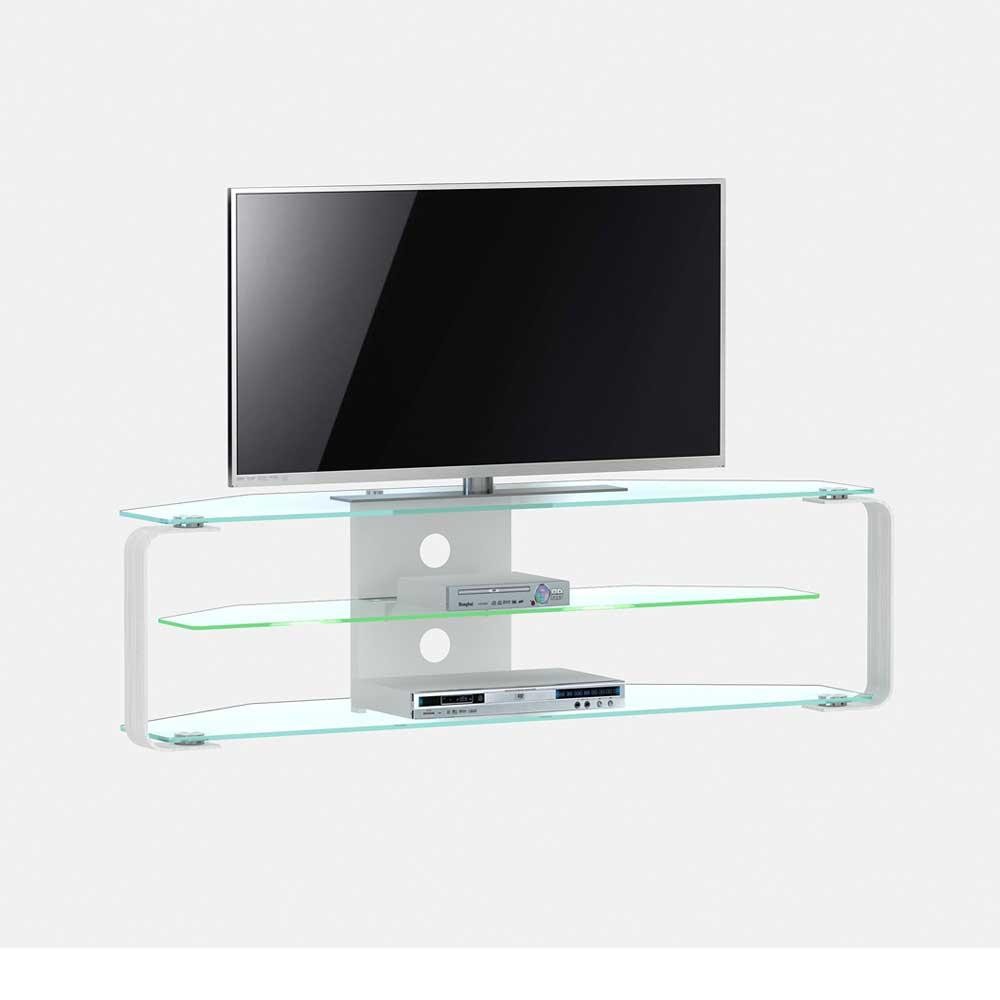 TV Sideboard Taja Aus Glas Amp Metall Wohnende