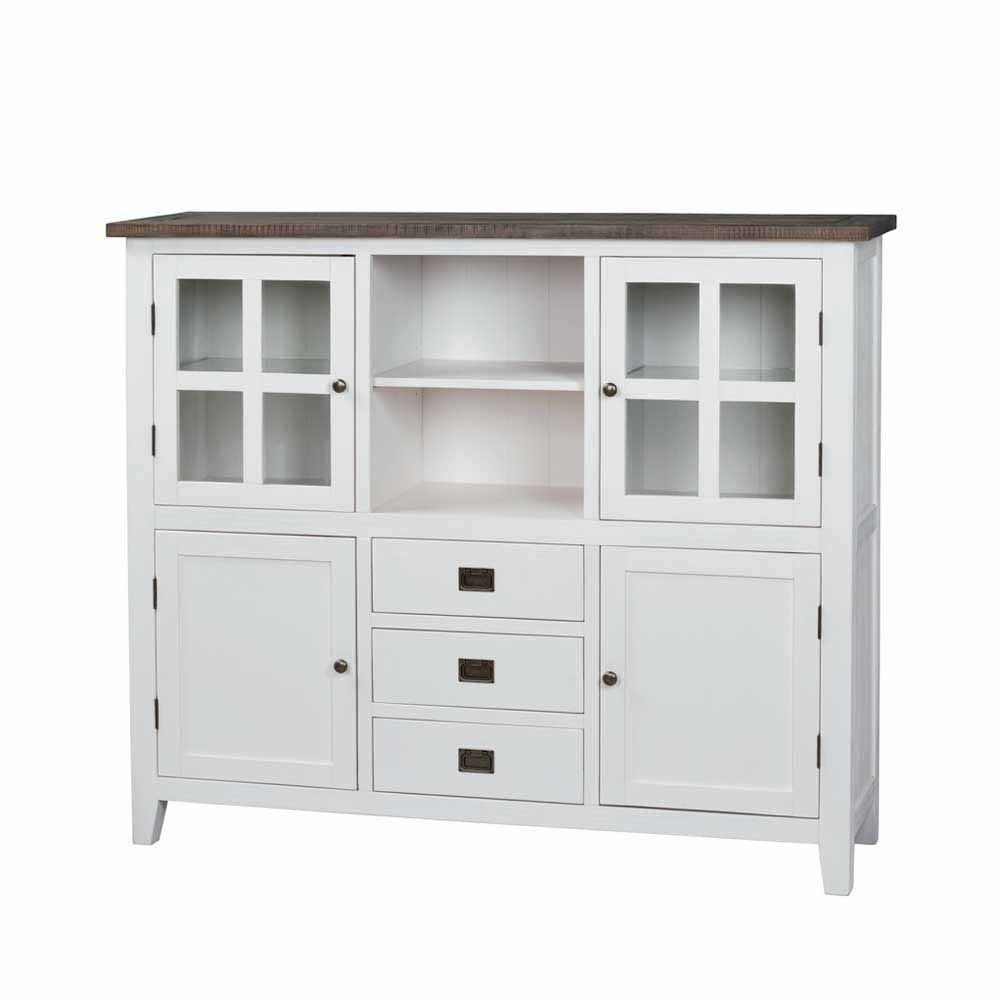 Highboard Braun Good Highboard Tati Cm Akazie Massiv