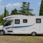 Ahorn Camp T 690 Plus Eco Modell 2019 Außenansicht Fahrerseite