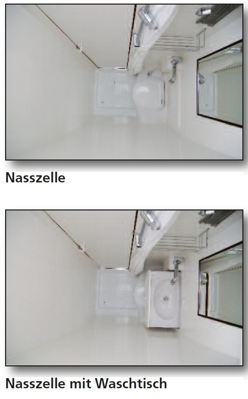 Nasszelle Für Wohnmobil
