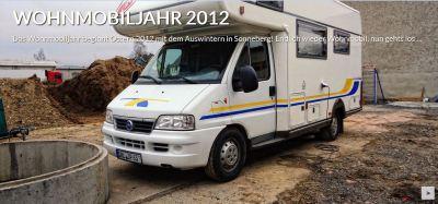 Wohnmobiljahr 2012