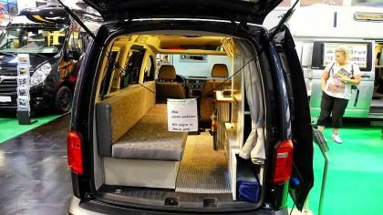 VW Caddy als Reisemobil