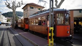 historische Straßenbahn Soler