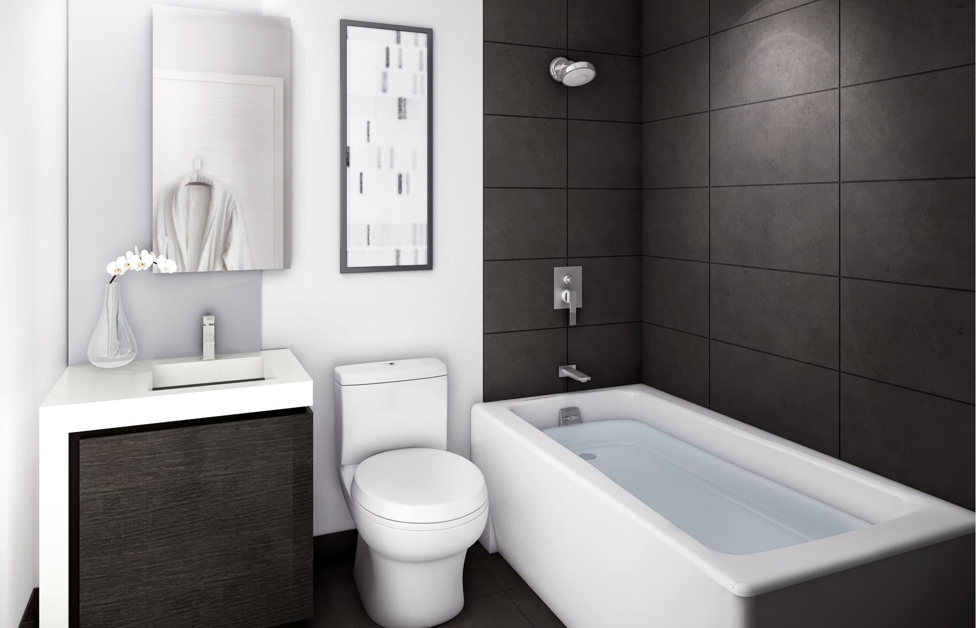5 Small Bathroom Ideas to Find More Space - Wohomen on Bathroom Designs For Small Spaces  id=33399