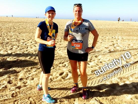 10km Lauf Huntington Beach