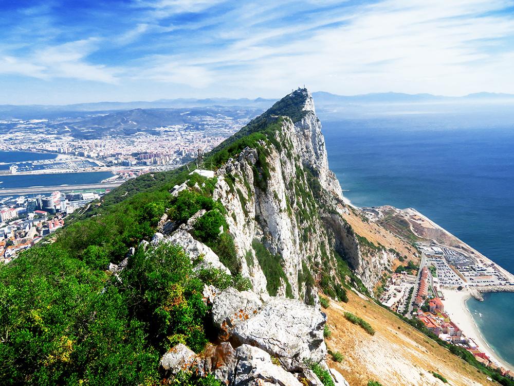 Erster Eindruck von Gibraltar