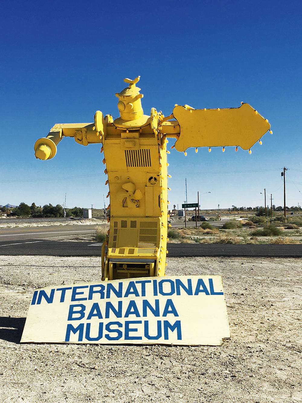 Internationales Bananen Museum in Mecca, Kalifornien