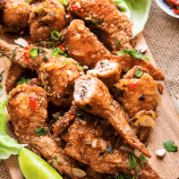 Vietnamese Stuffed Chicken Wings