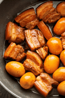Thit Kho in a wok