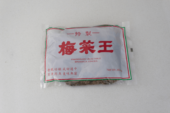 Mui Choy in its package.