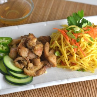 Lemongrass Chicken with Yakisoba Noodles