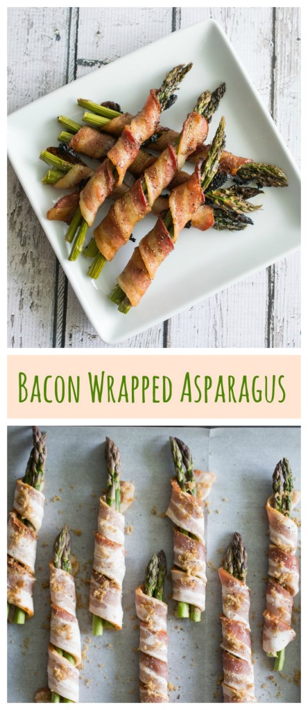 Bacon Wrapped Asparagus - the perfect side dish!