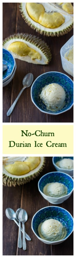 Creamy and delicious Durian Ice Cream. Only 4 ingredients; no ice cream maker needed! Creamy and delicious Durian Ice Cream. Only 4 ingredients; no ice cream maker needed!