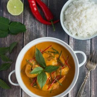 Easy Thai Red Curry Shrimp