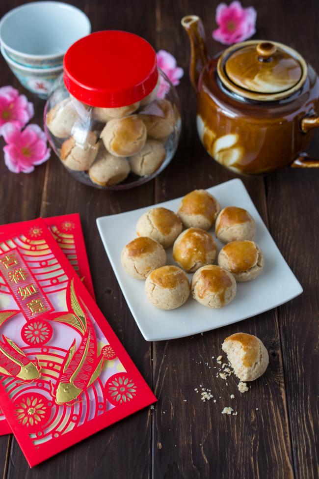 Chinese Peanut Cookies