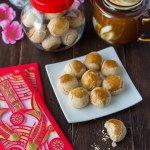 These traditional Chinese Peanut Cookies are sweet morsels of peanutty goodness that crumble and melt in your mouth. This popular Chinese New Year treat is so easy to make and irresistibly delicious.