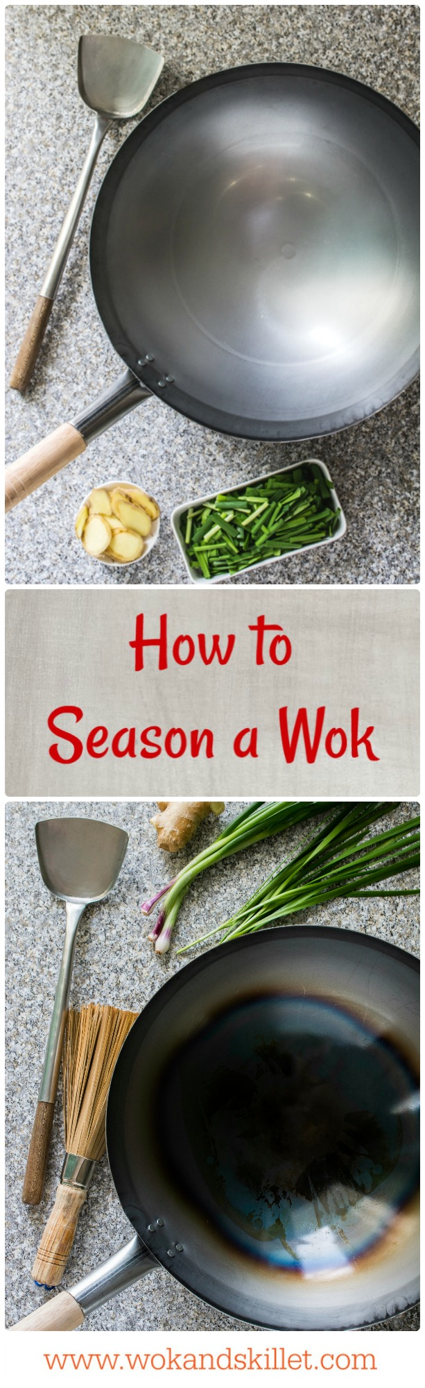 How to Season a New Wok. An easy step-by-step guide.