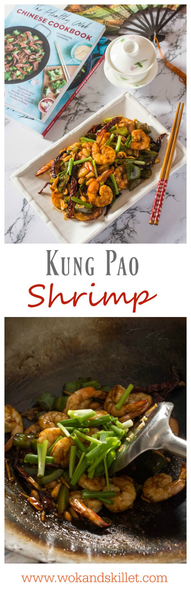 This spin on the American-Chinese classic features delectable shrimp, bell pepper and crunchy roasted peanuts covered in a savory and slightly (or very!) spicy sauce. So easy to prepare and ready in only 15 minutes!