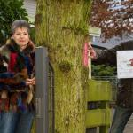 Spray-Aktion am Gremmendorfer Weg: Rätselhaftes um die Bäume