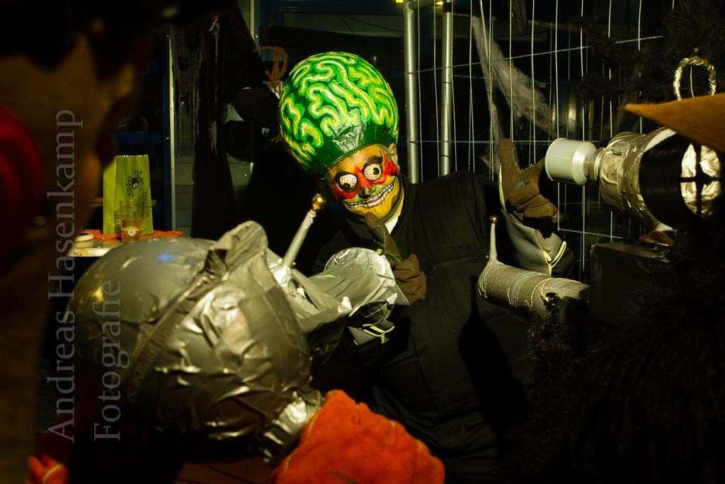 Halloween-Motive der Halloween-Party 2016 in der Stadthalle Hiltrup. Foto: A. Hasenkamp, Fotograf in Münster.