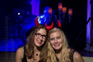 Halloween-Party 2015 in der Stadthalle - veranstaltet vom Schützenverein Dicke Eiche. Foto: A. Hasenkamp, Münster