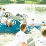 6. Münsterisches Tretbootrennen läuft mehr oder weniger geradeaus