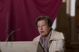 Prof. Ursula Nelles bei ihrer Fastenpredigt