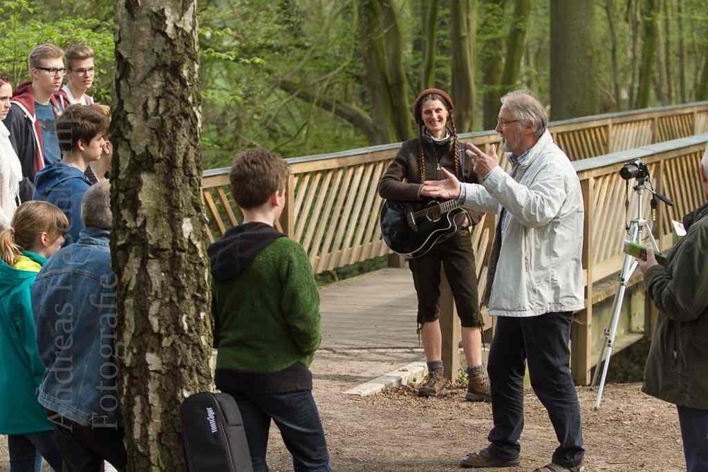 """Ganz nah an der Lügenbücke im sogenannten """"Tiergarten"""". Foto: A. Hasenkamp, Fotograf in Münster."""