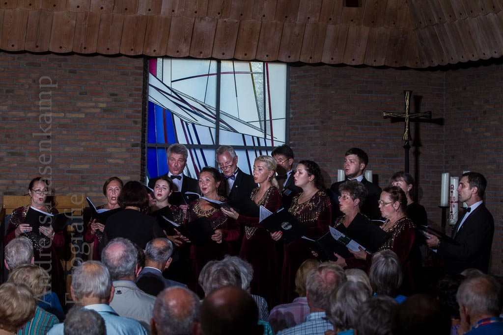 Kant-Chor aus Gumbinnen/Gusev in Münster-Wolbeck. Foto: A. Hasenkamp, Fotograf in Münster.